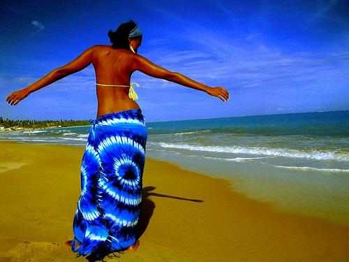black-woman-on-beach