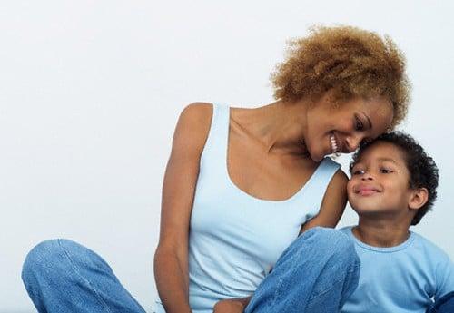 black-women-and-child
