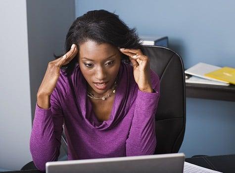 black-woman-computer-upset