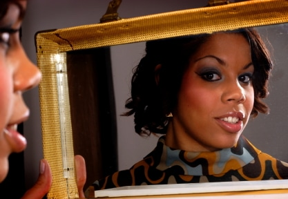 black-woman-in-mirror