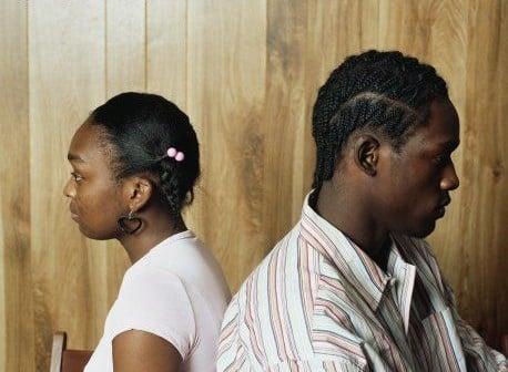 Upset Black Couple