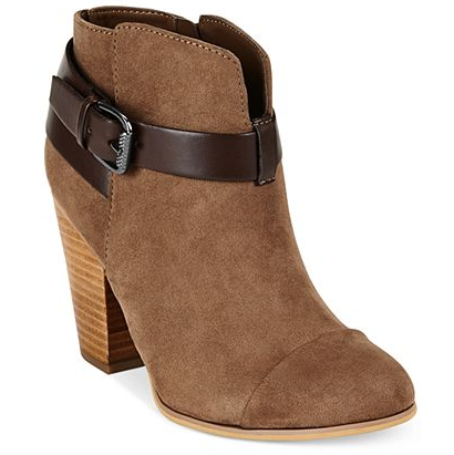 Belted booties