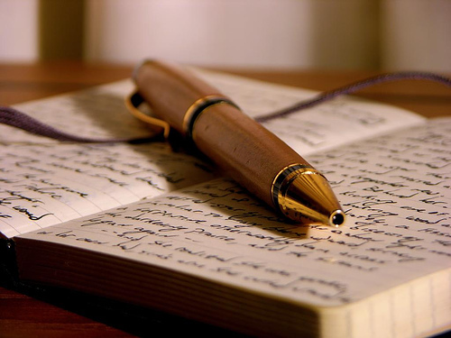 personal injury attorney writing