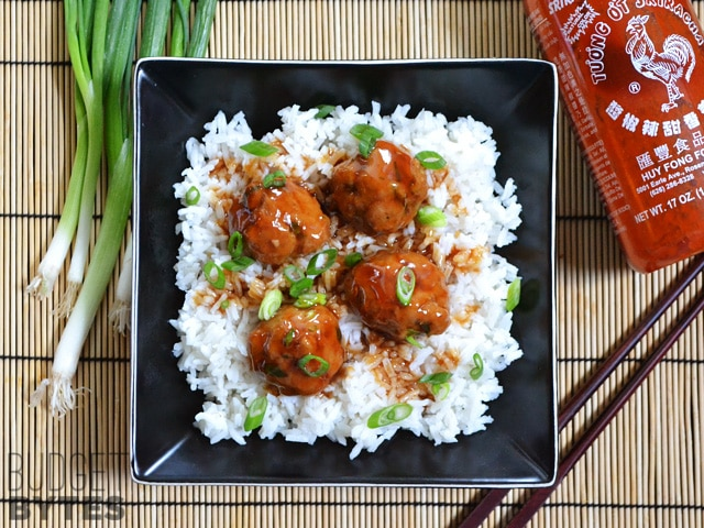 Turkey-Sriracha-Meatballs-plate
