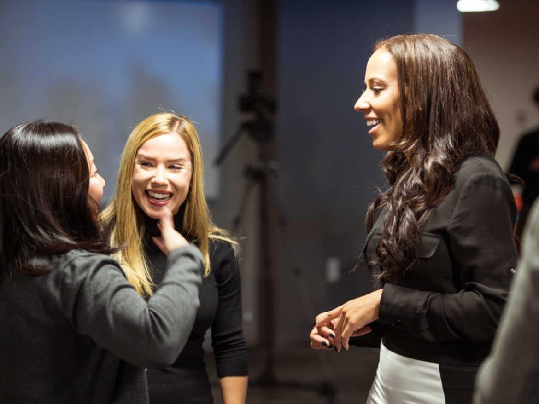 networking women