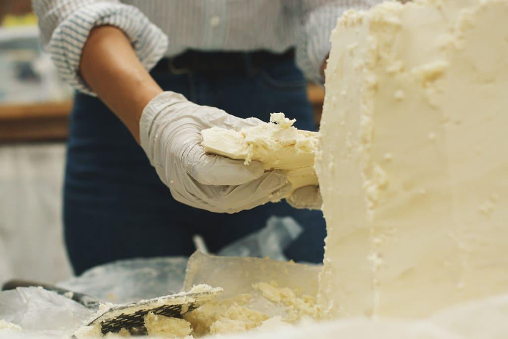 shea butter creation woman