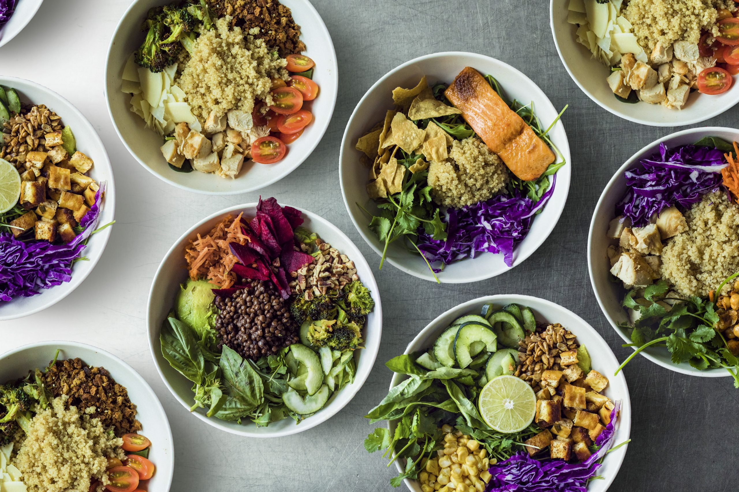 sweetgreen salad and grain bowls