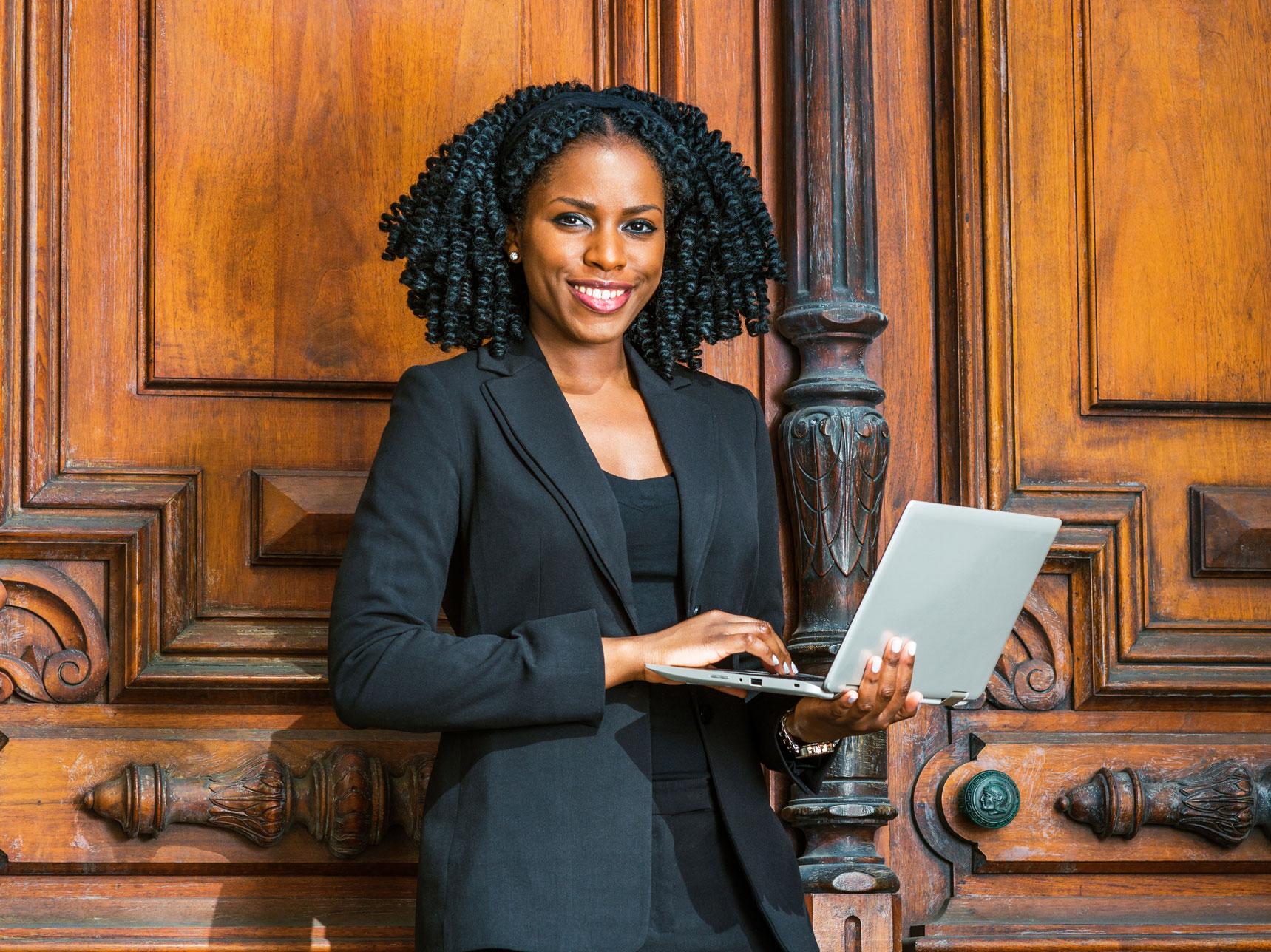 black female lawyer