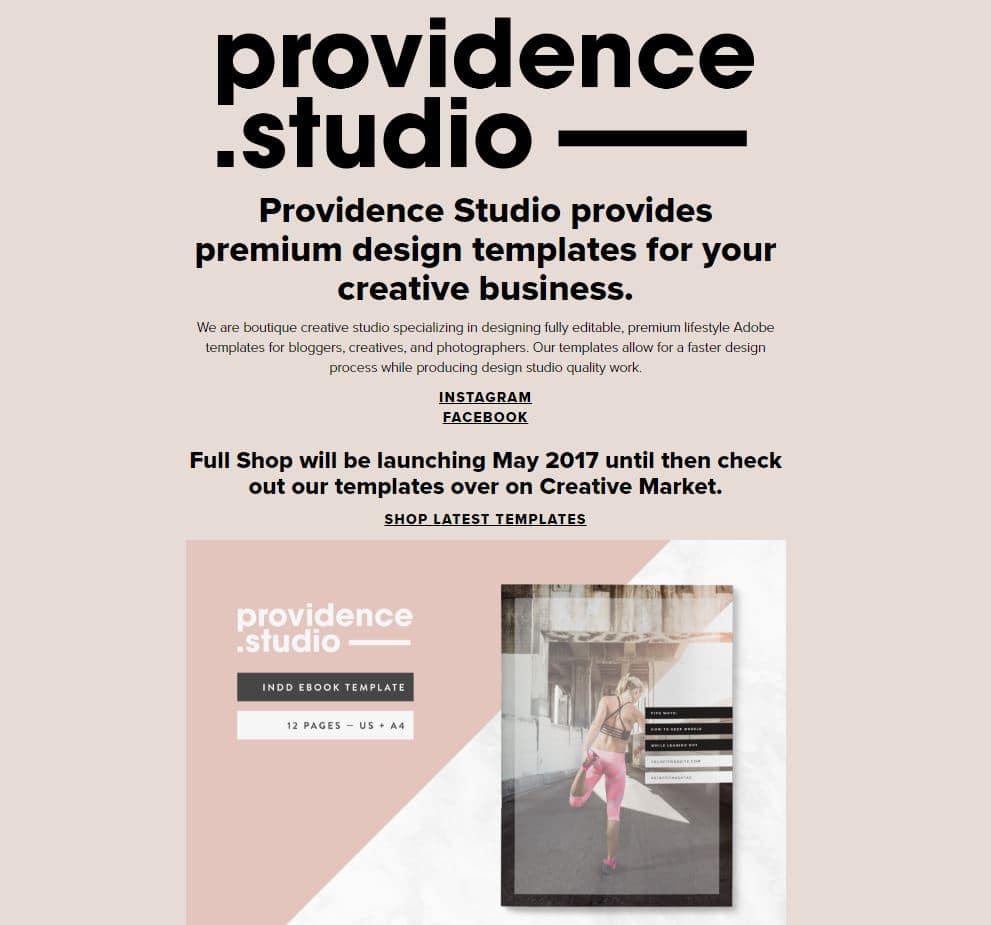 Laura Providence black web designer