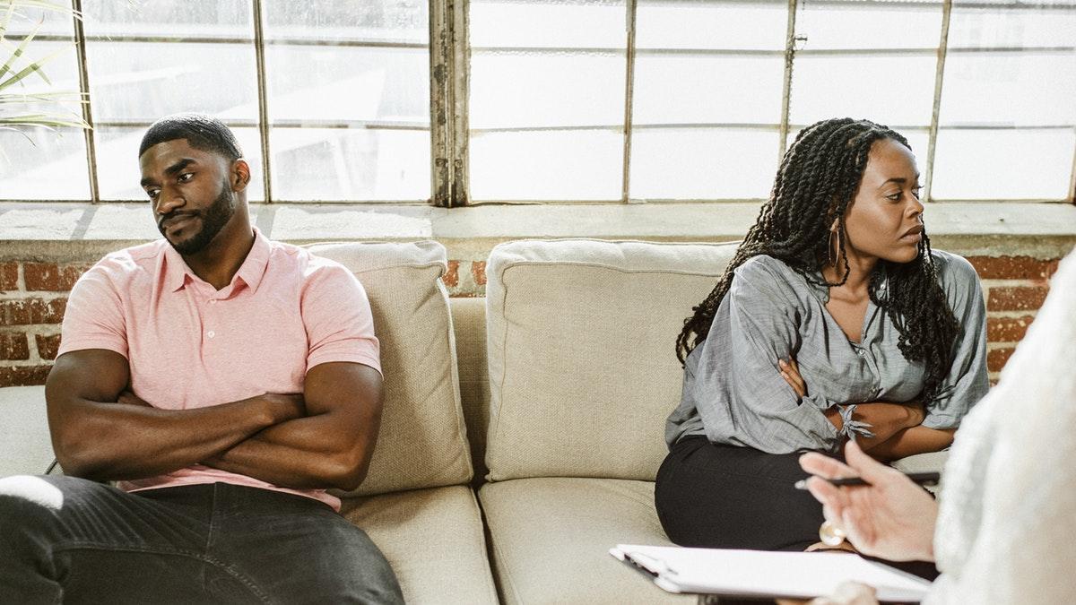 black-coouple-unhappy-divorce