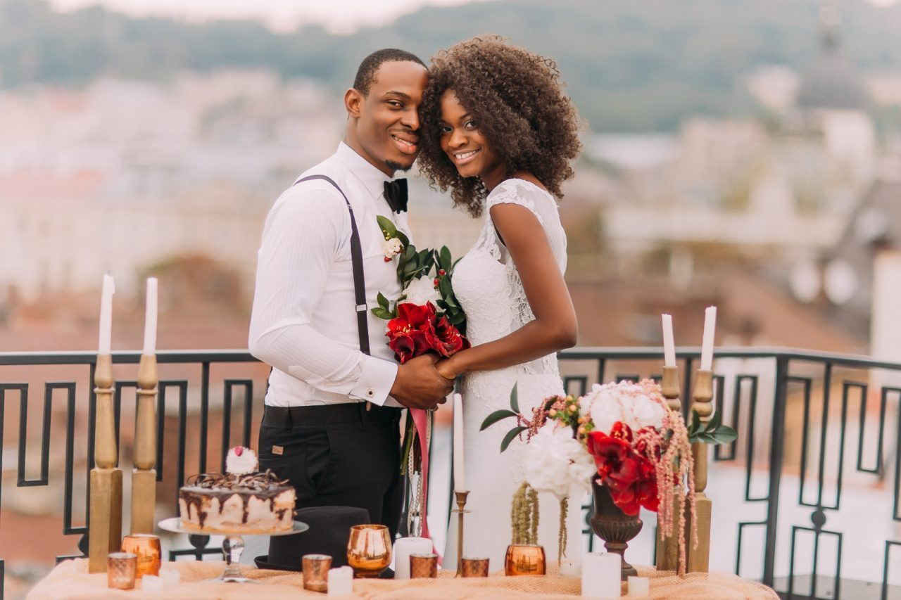 black-couple-wedding