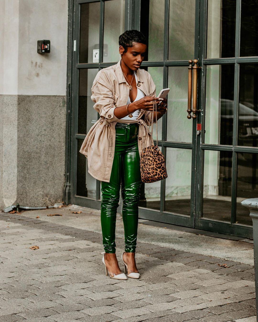 black-woman-checking-phone