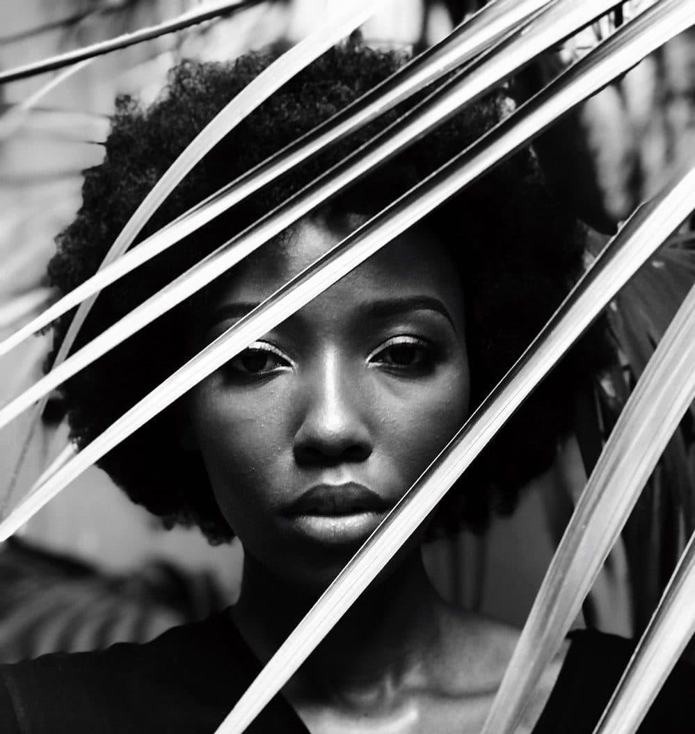 black-woman-leaf
