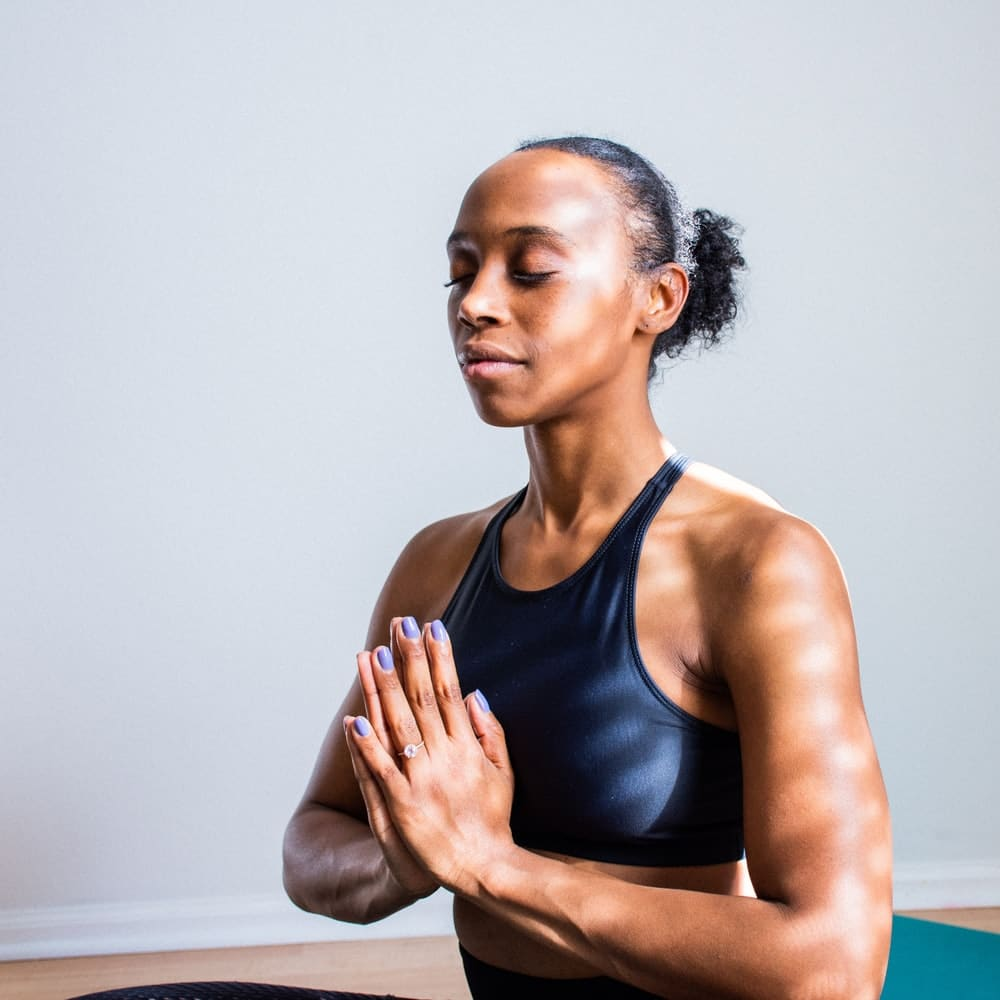 black-woman-meditating