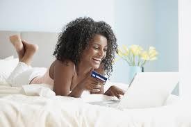black-woman-online-shopping