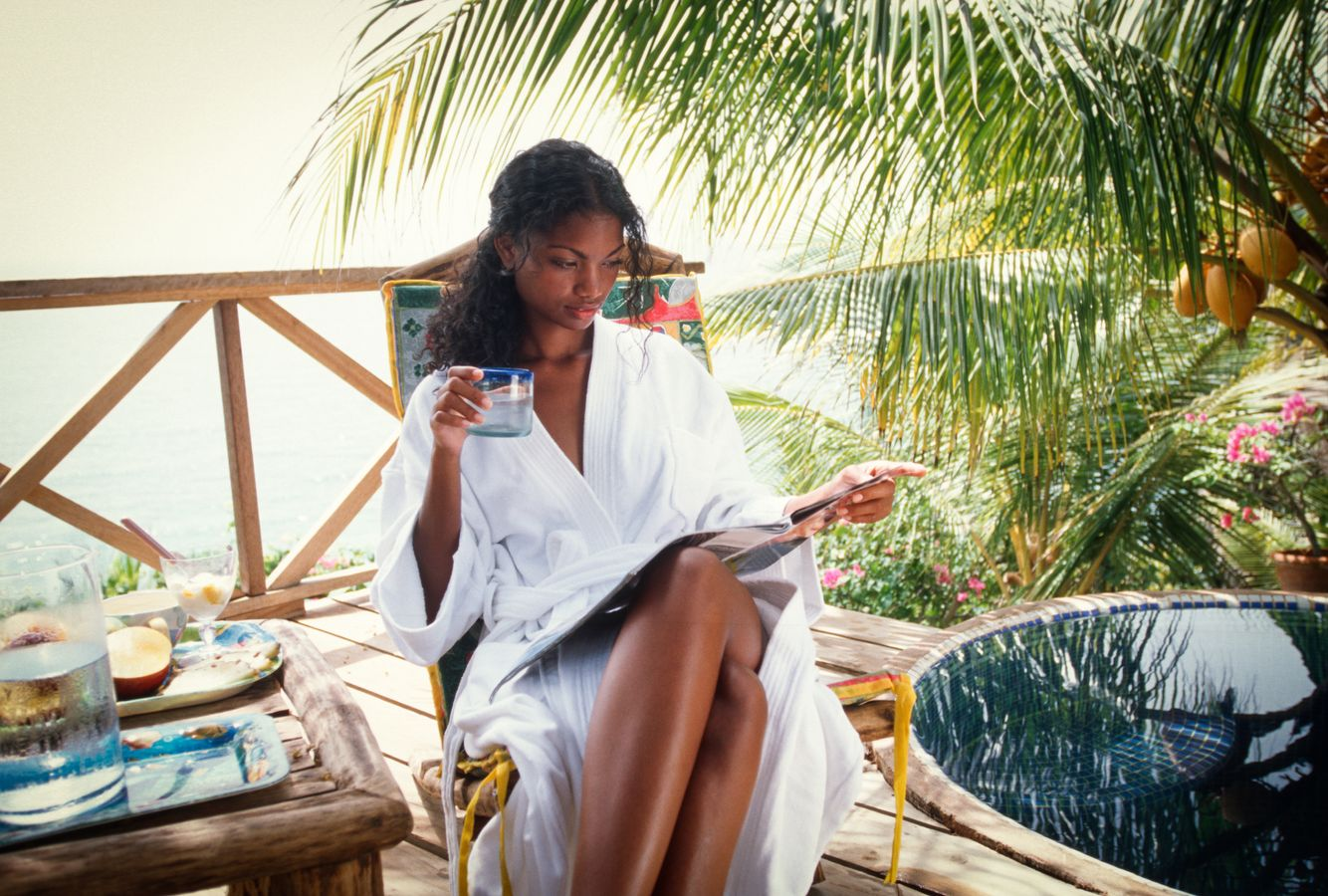 black woman wellness retreat