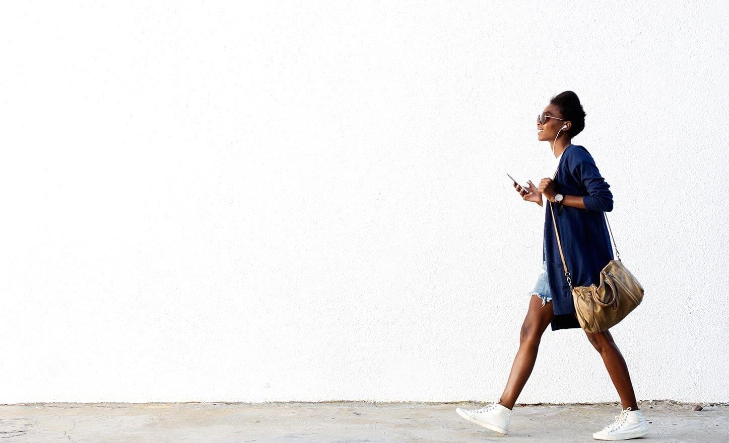 black-woman-walking