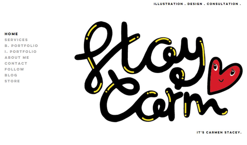 carmen stacey black web designer