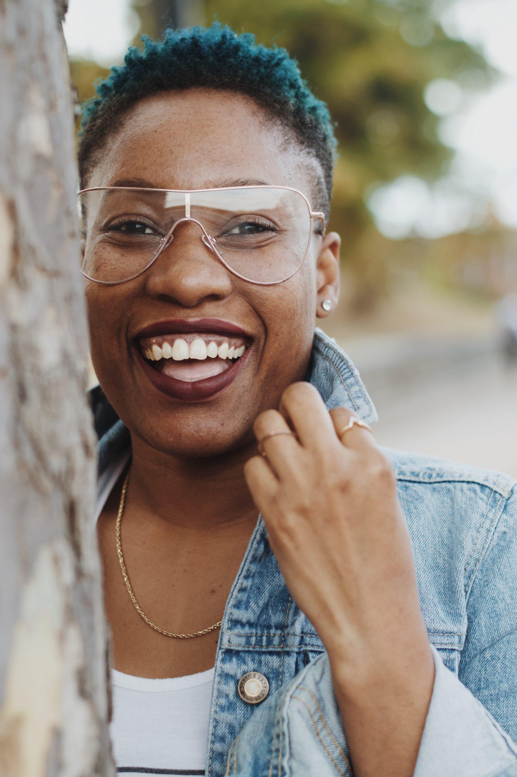 black-woman-smiling-laughing