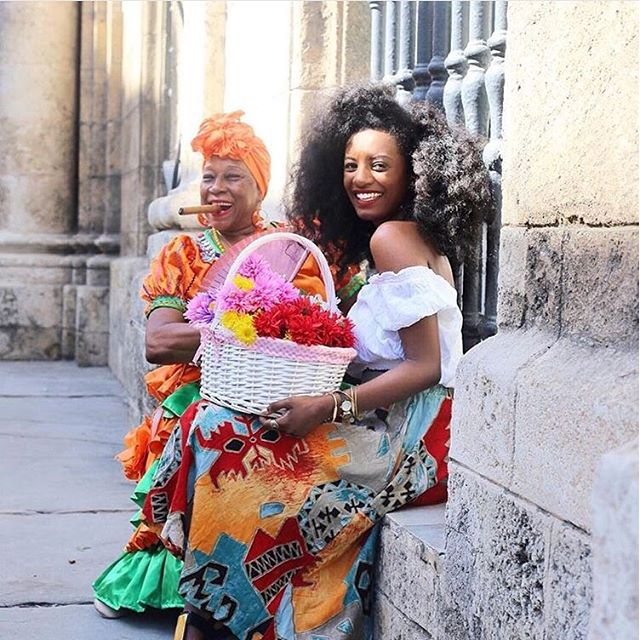 black woman in cuba