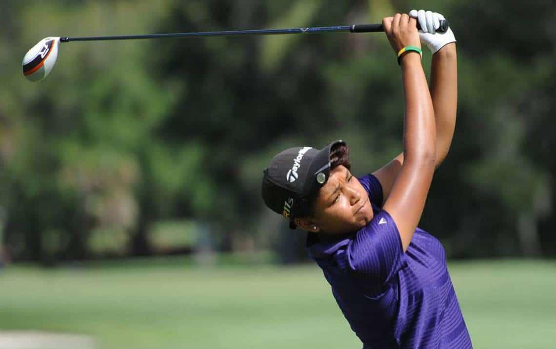 Ginger Howard golfer