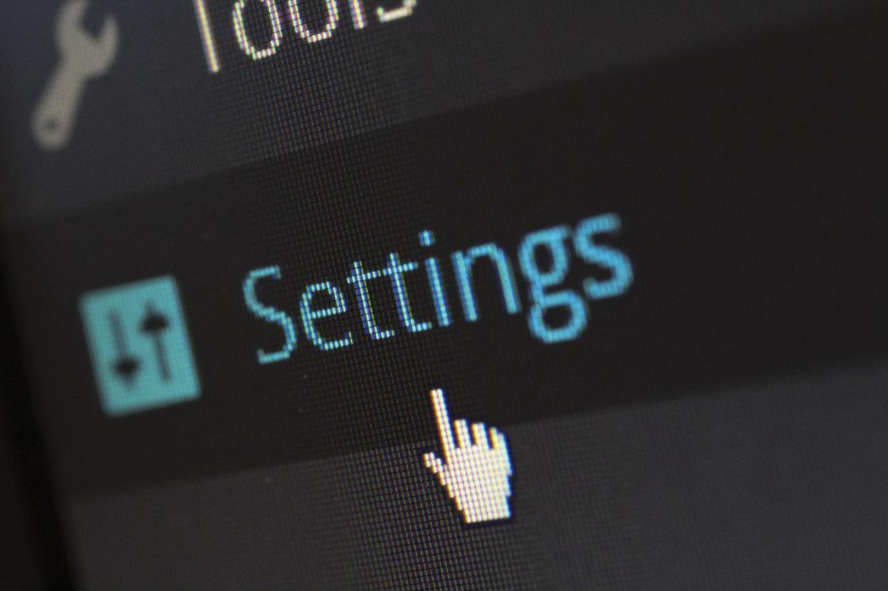 site settings image